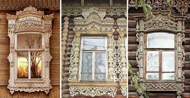 Наличники на окна в деревянном доме: как сделать своими руками, шаблоны, трафареты