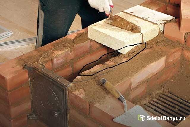 Раствор для кладки печей своими руками: основные составы и пропорции, описание процесса приготовления