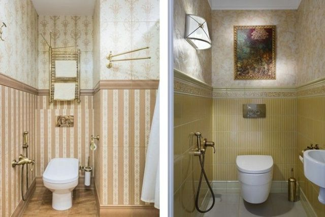 Дизайн маленького туалета (интерьера): размеры, ремонт