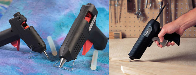 Клеевой пистолет: что можно клеить, как выбрать, применение