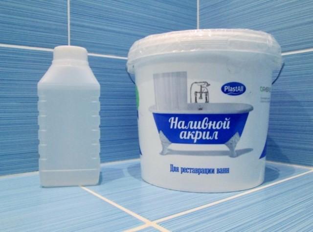 Покраска ванны своими руками в домашних условиях