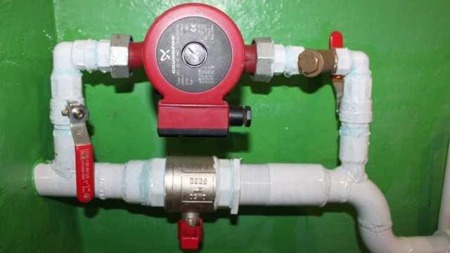Как самому установить дополнительный насос в систему отопления? + видео