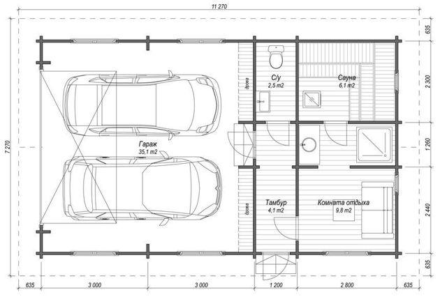 Как правильно разметить фундамент своими руками для дома, гаража, бани, пристройки