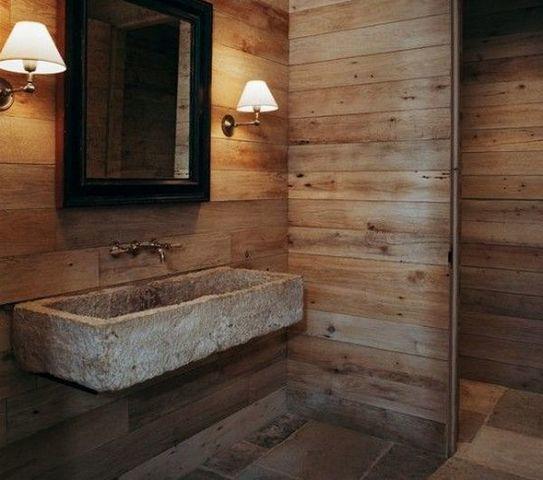 Плитка под дерево в ванной комнате на стены: особенности и виды