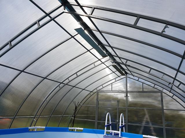 Бассейн с подогревом на даче своими руками