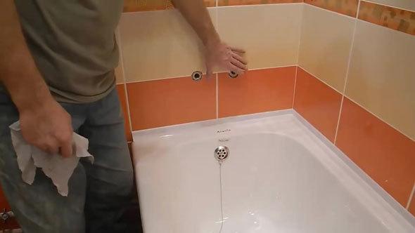 Замена смесителя в ванной своими руками
