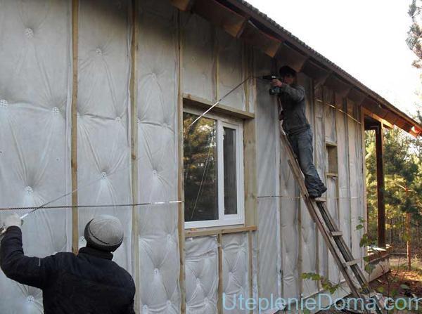 Утепление стен пенопластом: внутри помещения, снаружи, своими руками
