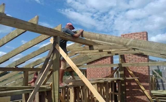 Стропильная система для односкатной и двускатной крыши – расчеты, конструкция, виды