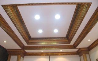 Плинтусы для натяжных потолков: виды и установка