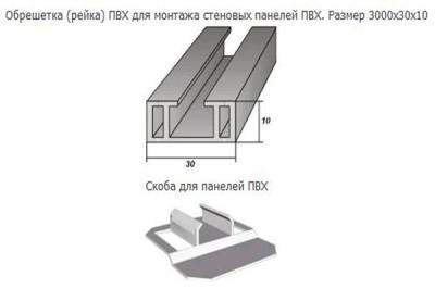 Как сделать обрешетку под ПВХ панели?