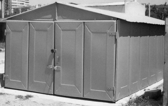 Металлический гараж своими руками: пошаговая инструкция и чертежи