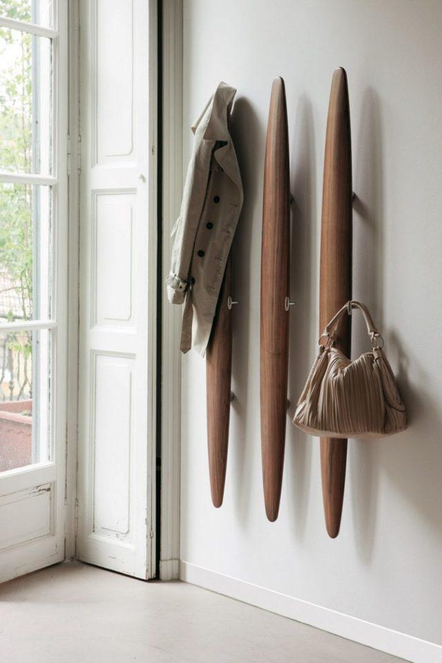 Как сделать вешалку для одежды своими руками в прихожую, настенную, напольную, из дерева