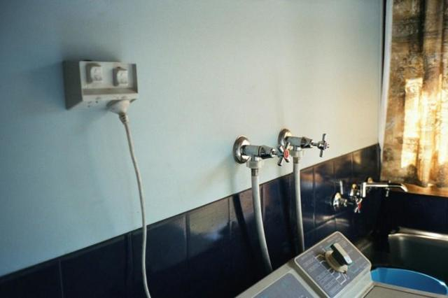 Розетка для стиральной машины в ванной комнате