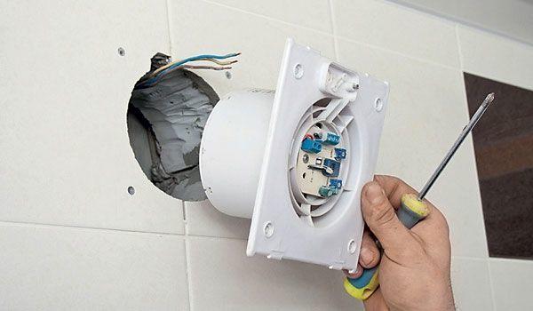Вентиляция в ванной комнате и туалете – раскрываем секреты установки