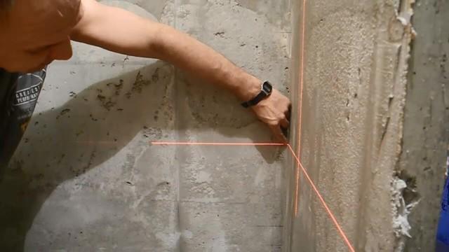 Маяки для штукатурки стен: как правильно установить своими руками