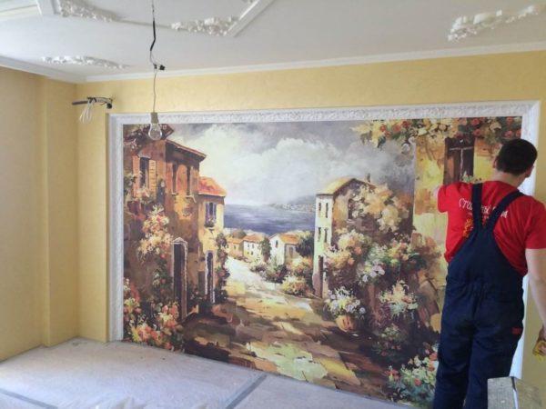 Фреска на стену, в интерьере: что это такое, как сделать своими руками?