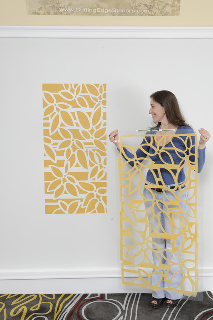 Рисунки на стенах в квартире своими руками