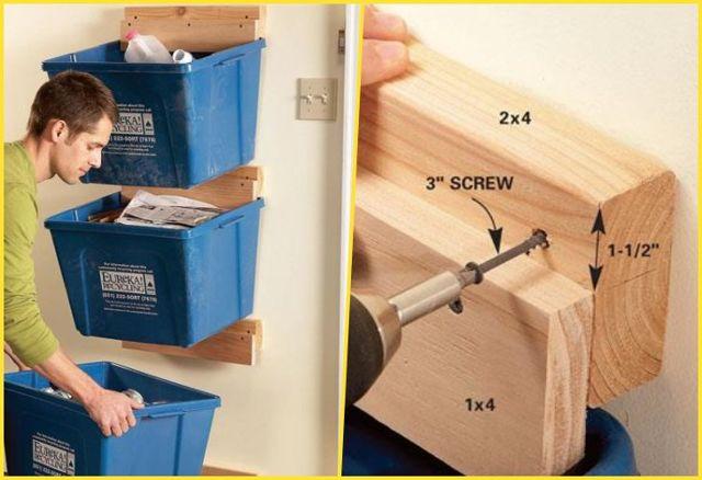 Обустройство гаража внутри своими руками: как навести порядок, хранить инструменты