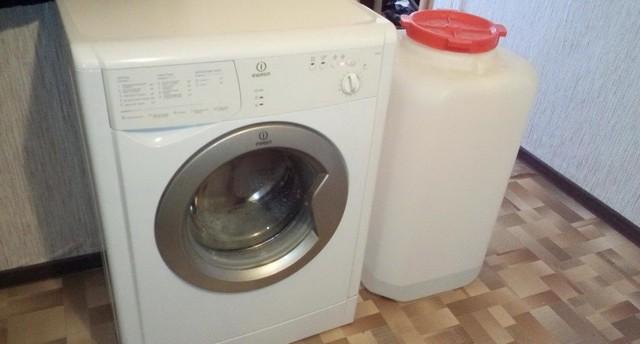 Как подключить стиральную машинку-автомат в сельской местности без водопровода
