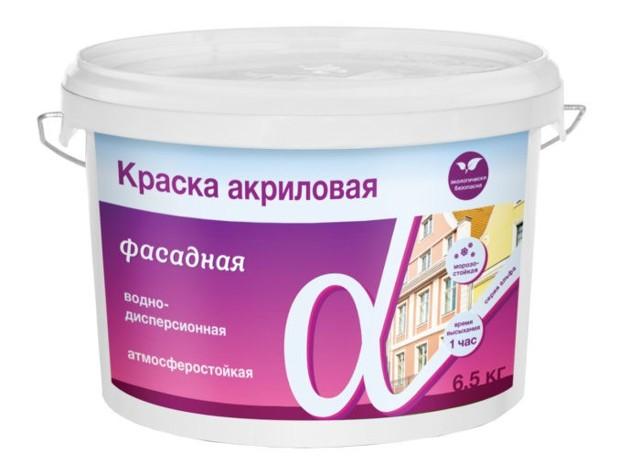 Акриловая водоэмульсионная краска для стен