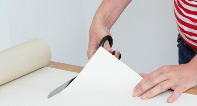 Виниловые обои на бумажной основе: как поклеить?