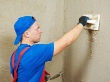 Выравнивание стен в ванной под плитку: как и чем делать?