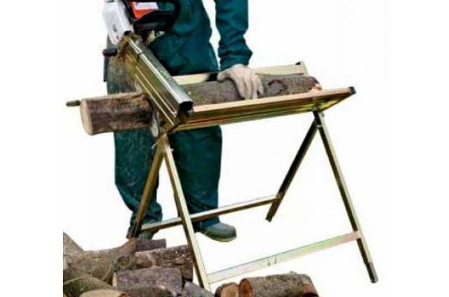 Козлы для распилки дров своими руками: как сделать приспособление для пилки бензопилой
