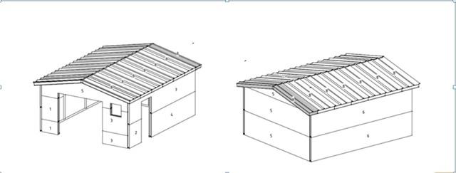 Гараж из сэндвич панелей своими руками: как построить?