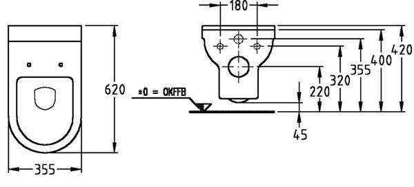 Подвесные унитазы: монтаж и установка своими руками