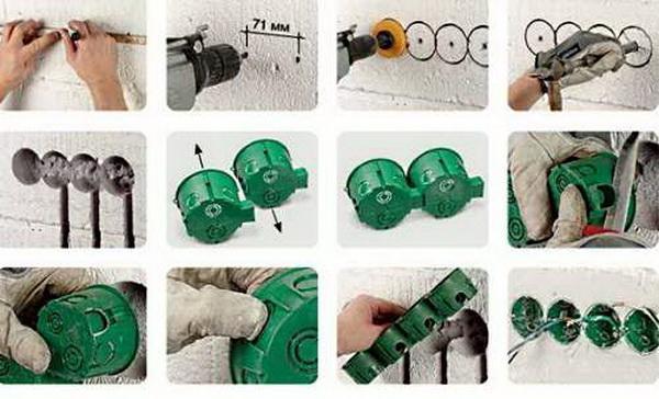 Как установить розетку своими руками