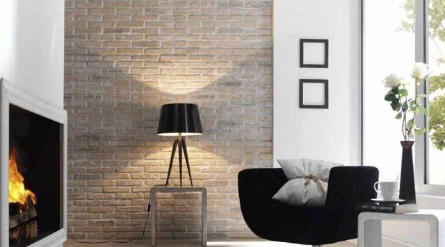 Имитация кирпичной кладки для внутренней отделки стен своими ...