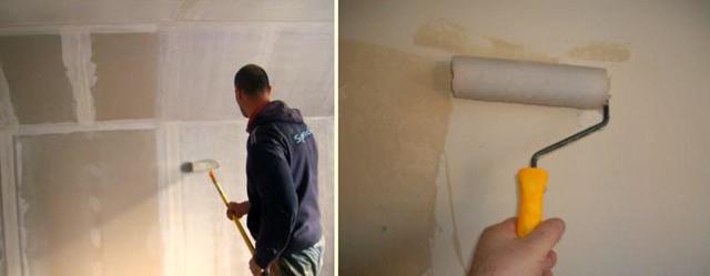 Грунтовка стен под обои: какую лучше выбрать?