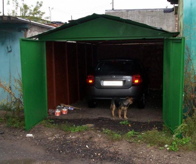 Отделка гаража внутри и снаружи своими руками