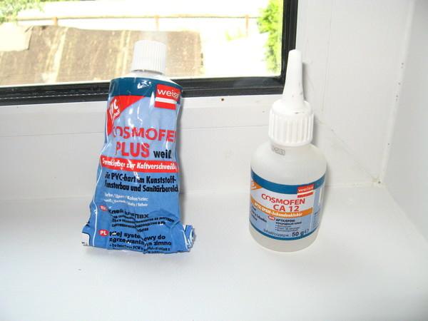 Жидкий пластик: клей для окон ПВХ