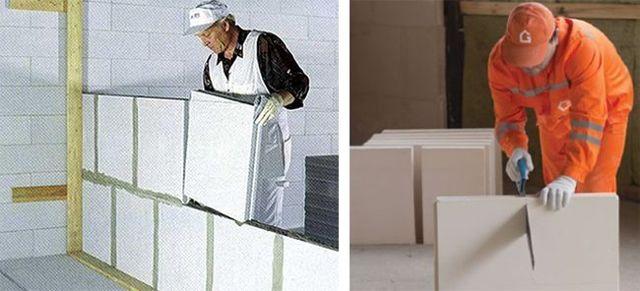 Пазогребневые плиты и блоки для перегородок: размеры, вес, монтаж и другие характеристики