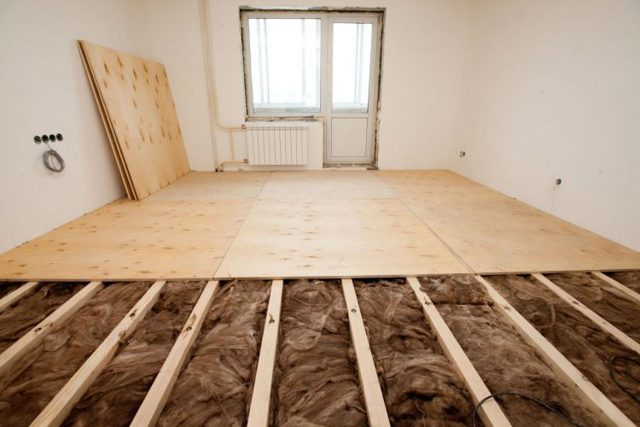 Звукоизоляция пола в квартире под ламинат своими руками