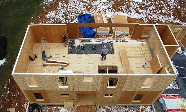 Технология строительства дома из СИП панелей