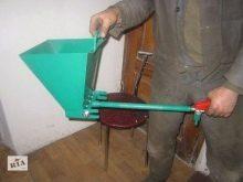 Как сделать штукатурный хоппер ковш своими руками