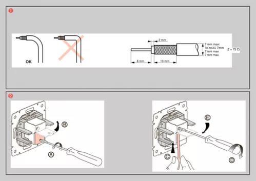 Как правильно подключить розетку для телевизора своими руками