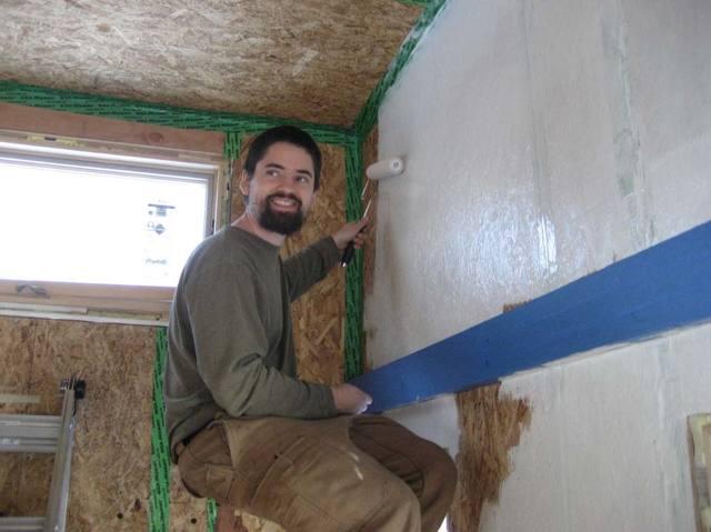 Чем покрасить ОСБ плиту на фасаде, внутри дома