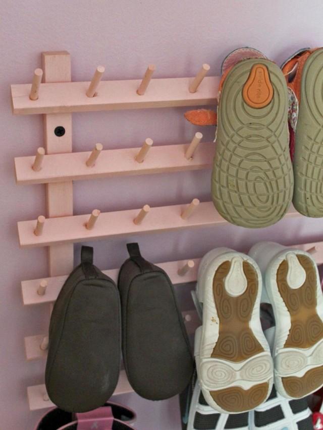 Обувница своими руками: как сделать тумбу для обуви, чертежи