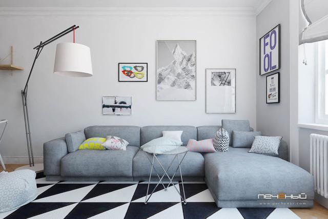 Ремонт квартиры в скандинавском стиле: дизайн интерьера