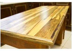 Изготовление столешницы из дерева своими руками