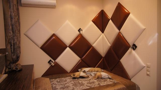 Мягкие стеновые панели для спальни своими руками