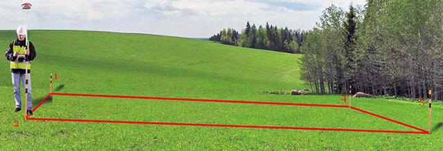 Сотка земли – это сколько метров по периметру