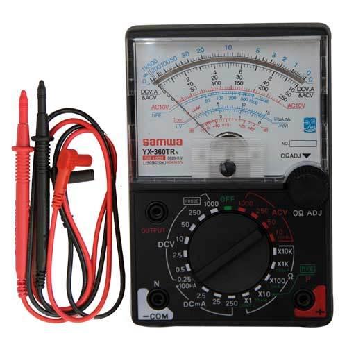 Как пользоваться тестером (электрическим мультиметром)?