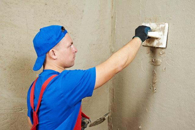 Подготовка поверхности стен под укладку плитки в ванной