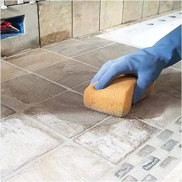 Как и чем отмыть плитку от затирки после ремонта?