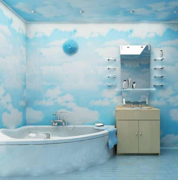 Как обшить ванную комнату пластиковыми панелями своими руками