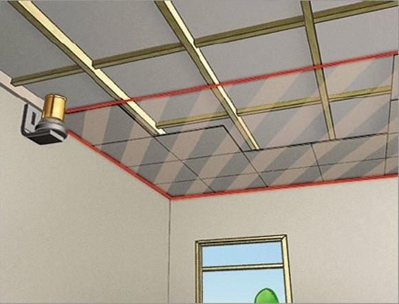 Монтаж гипсокартона на потолок: как правильно крепить материал